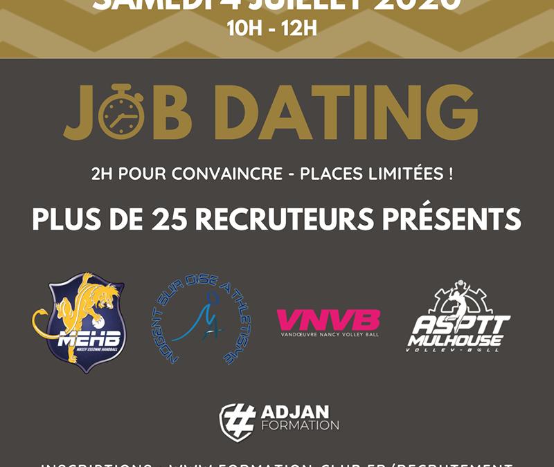 J-10 avant la première session de Job Dating !