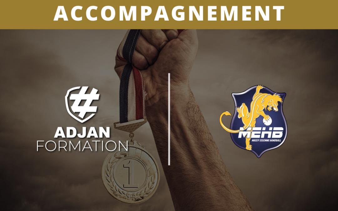 Adjan Formation accompagne le Massy Essonne Handball